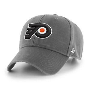 NHL Philadelphia Flyers Baseball Cap MVP Legend Charcoal 194602568577