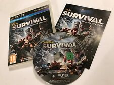 Playstation 3 PS3 Cabela's Survival Shadows Of Katmai Completo Disco Gran Reino Unido PAL