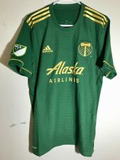 ADIDAS MLS PORTLAND TIMBERS PRIMARY TEAM JERSEY GREEN SIZE S