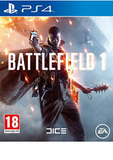 BATTLEFIELD ONE PS4 BRAND NEW FAST DELIVERY!