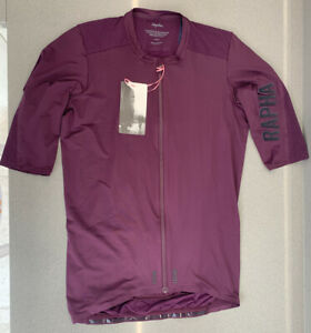 Rapha Pro Team Aero Jersey Plum Size Large Brand New With Tag