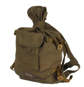 Soviet Vintage Duffle Bag Veshmeshok Canvas Backpack Army Civilian USSR