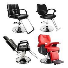 Hydraulic Barber Chair Modern Salon Haircut Styling Spa Shampoo Beauty Equipment
