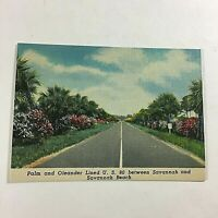 VINTAGE 1930s Mini Photographs Souvenir Pictures Savannah GA U.S. Hwy 80
