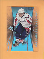 2008 09 ULTRA EX ALEXANDER OVECHKIN #1 WASHINGTON CAPITALS