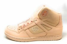 DC Shoes Womens Rebound High 302164 Hi Top Sneakers Peach Size 11 M US