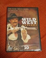 Wild West Outlaws (DVD, 2009, Dual Sided)☆Brand New☆/☆Sealed☆