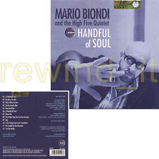 "MARIO BIONDI AND HIGH FIVE QUINTET ""HAND OF SOUL"" CD FULL PROMO ALBUM CARDSLEEVE"