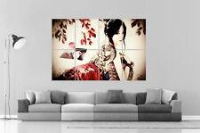 Geisha asiatisch frauen Wand Kunst Plakat groß format A0 groß Druck