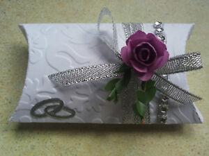 Gastgeschenke,Geschenkbox Hochzeit,Silber Hochzeitstag,Tischdeko