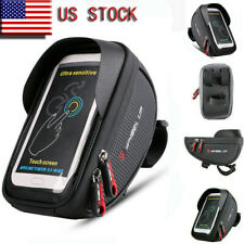 "Waterproof Bicycle Bike 6"" Mount Phone Holder Case Bag Pouch Cover for Mobiles"