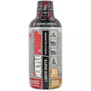 ProSupps® Dr. Jekyll® Pump Liquid Shot, Nitric Oxide Boosting Orange Sherbert