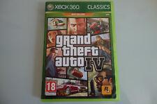 Grand Theft Auto IV 4 GTA 4  - XBOX 360 - PAL / FR En boite