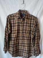 Viyella by Gant Long Sleeve Plaid Checkered Shirt Size L VTG Retro western
