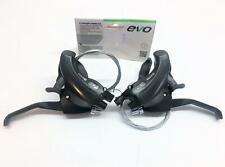 ~ New Shimano Compatible EVO 8 Speed 3x8 Trigger Shifter & Brake Combo Set ~