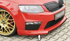 Rieger CUP Spoilerlippe für Skoda Octavia 5E RS Frontspoiler Spoilerschwert