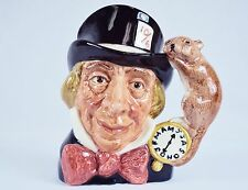 "Toby Character Jug (Small) ~""Mad Hatter"" ~ Royal Doulton D6602, #9120760"