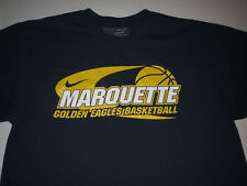 bd4585025 Marquette Golden Eagles Warriors NIKE NCAA Basketball T-shirt Adult Large