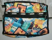 Le Sportsac Polyester shoulder bag Travel stickers