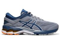 Asics 1011A541 021 Gel Kayano 26 Sheet Rock / Mako Blue Men's Running Shoes