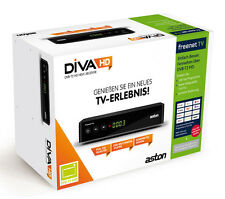 Aston Diva HD T2 FREENET TV ZAPPER / H.265 HEVC / DVB-T2 Full HD