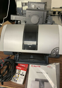 Canon i960 Photo Printer + Manual, Photo Paper, Ink & USB Lightly Used : Rare!
