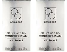 Paula Dorf 3D Eye and Lip Contour Cream with Retinol & Hyaluronic Acid .5oz x 2