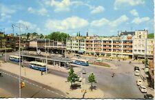 Bus Station Arnhem Holland Netherlands unused 1960s postcard