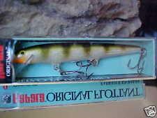 Rapala Orginal Floating F11 YP Yellow Perch for Bass/Walleye/Pike/Pickerel