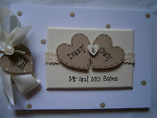A4 Personalised Wedding Guest Book/Photo Album Any Colour