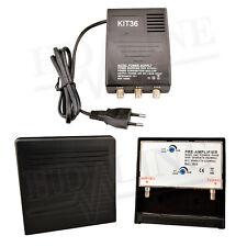 HD-KIT36 AMPLIFICATION ANTENNE UHF VHF FM - Amplificateur tnt exp. de France