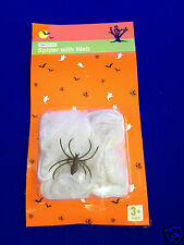 Spider with Web Halloween Fancy Dress Party Spooky Horror Stretchy