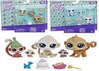 Littlest Pet Shop Family Pack Birthday Bash Fab-Lookin Fam Ages 4+ Toy Doll Mini