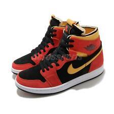 Nike Air Jordan 1 Zoom Air Cmft Чили красный желтый черный белый мужские туфли CT0978-006