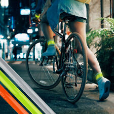 2 High Visibility Arm Slap Strap Bands Reflective Safety Band Florescent Leg Arm