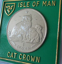 2007 Isle of Man Ragdoll Breed Cat & Kittens Crown Coin (BU) Collector Gift Set