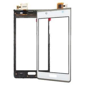 Verre Écran Tactile Cadre Frame Pour LG P700 L7 Optimus Verres Touch Blanc