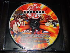 Bakugan Battle Brawlers Nintendo Wii Game Only 2009 Free Shipping