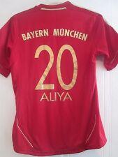 Bayern Munich 2012-2013 Hogar Camiseta De Fútbol Aliya 20 en la parte trasera Adulto Pequeño/40909