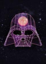 Star Wars metal-póster retro Wars Vader 32 x 45 cm