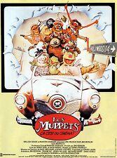 Affiche 120x160cm LES MUPPETS ÇA C'EST DU CINÉMA / THE MUPPET MOVIE 1979