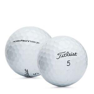 3 Dozen Titleist Pro V1 2016 Used Golf Balls 5A Mint Refinsihed # 1 Ball In Golf