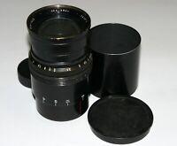 Very Rare LENKINAP PO18-2 SAME OKC1-100-1 10cm f2.0 2/100 M42 portrait cine lens