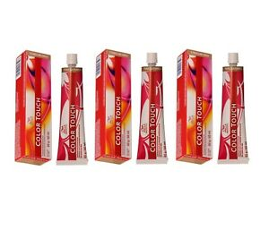 WELLA COLOR TOUCH 60ML - ALL COLOURS AVAILABLE