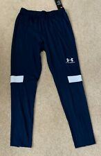 Mens UNDER ARMOUR Fitted Joggers in Navy Size Medium