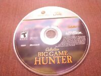 Microsoft Xbox 360 Disc Only Tested Cabela's Big Game Hunter Ships Fast