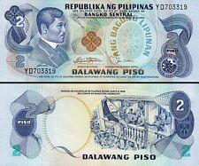 Philippines 2 Piso, 1978, UNC, P-159b, Sign-9, Black Serial