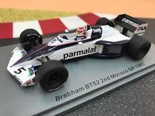 1/43 Brabham BMW BT52 #5 Nelson Piquet P2 GP Monaco 1983 SPARK S7110 NEU !