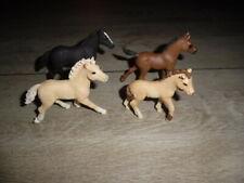 Schleich Horse Club  4 Pferde  Fohlen neu ohne Verpackung