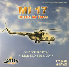 Witty Wings - 1/72 MI-17 Russian Air Force Diecast collectible (Discontinued) -
